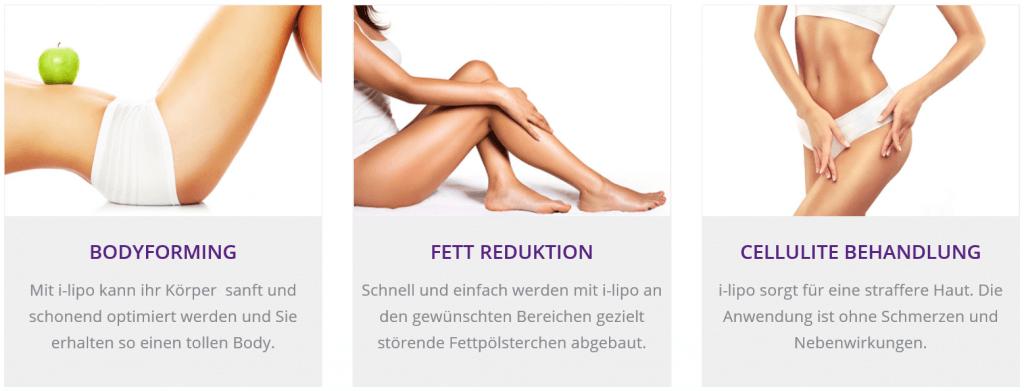 BodyForming - I-Lipo Fett-Weg-Laser zur Fettreduktion und Cellulitebehandlung